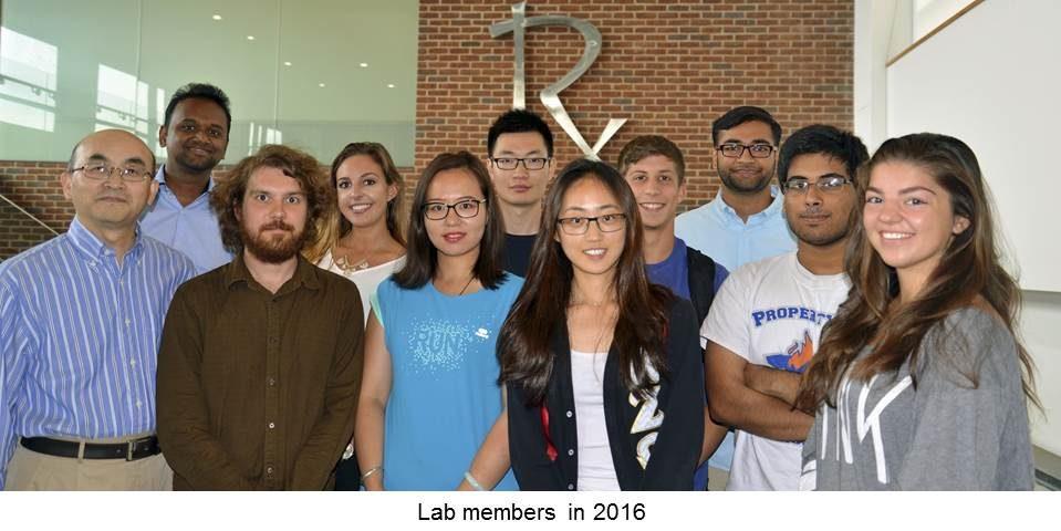 Zhong Lab members